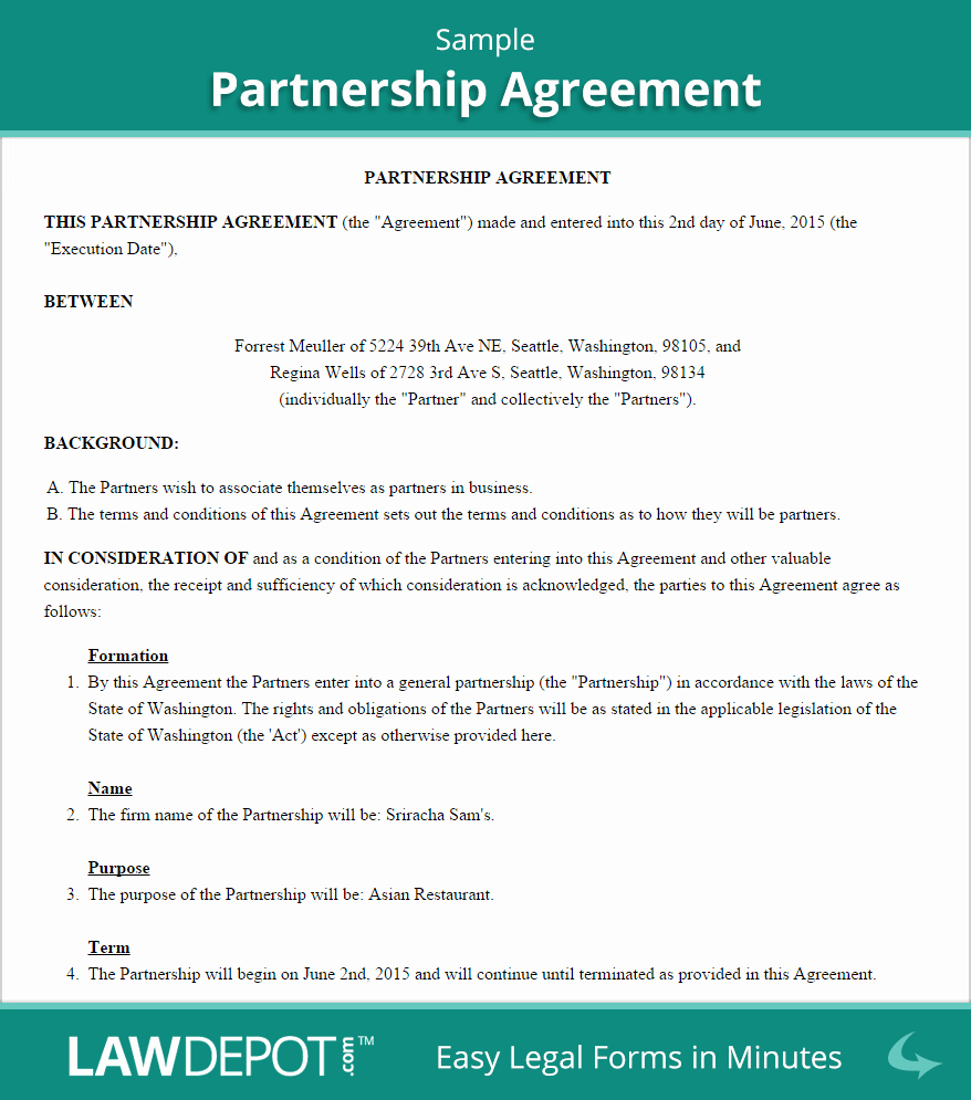 Profit Sharing Agreement Template Luxury 25 Professional Agreement format Examples Between Two