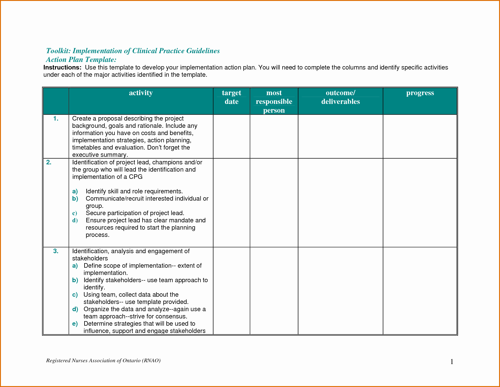 Project Action Plan Template Lovely Download Microsoft Project Action Plan Template Free