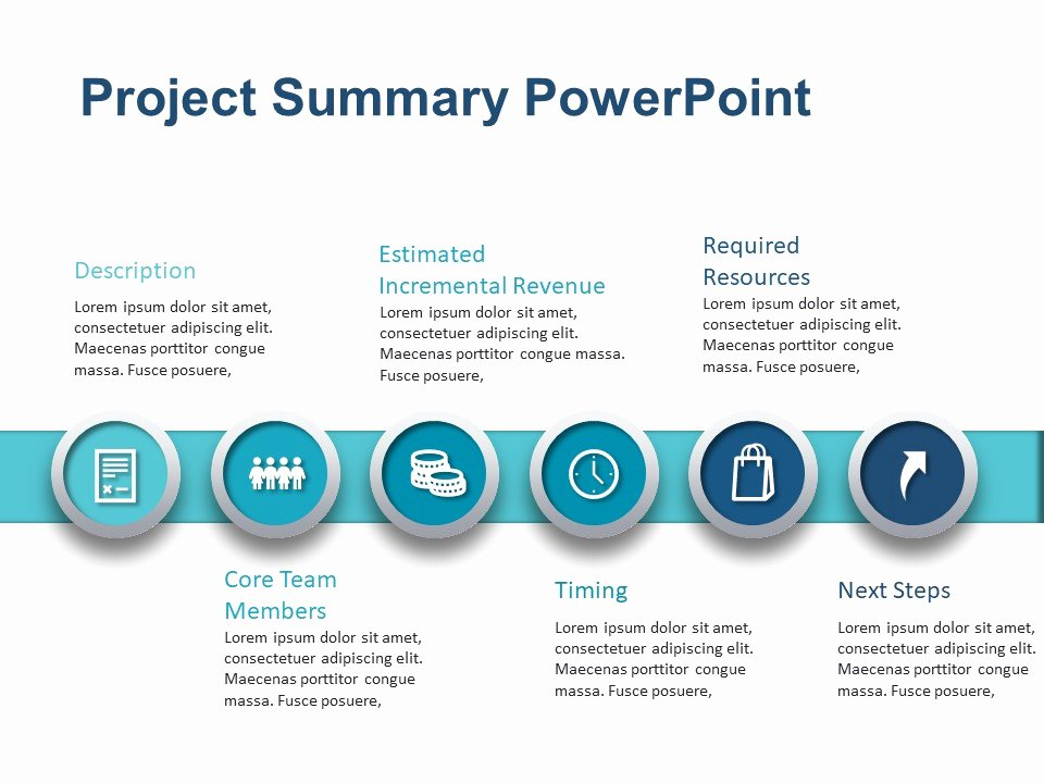 Project Executive Summary Template Lovely Project Summary Powerpoint Template 2