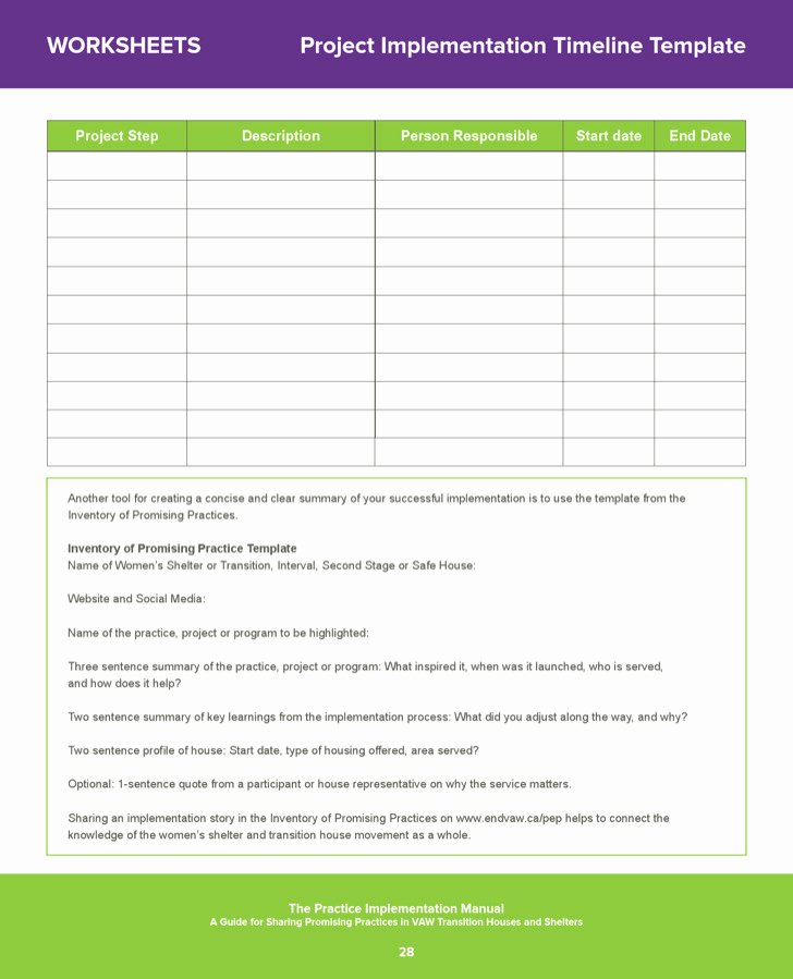 Project Implementation Plan Template Luxury Sample Project Implementation Templates