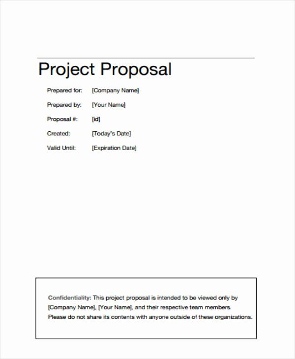 Project Outline Template Word Luxury 12 Project Proposal Outline Templates Pdf Word