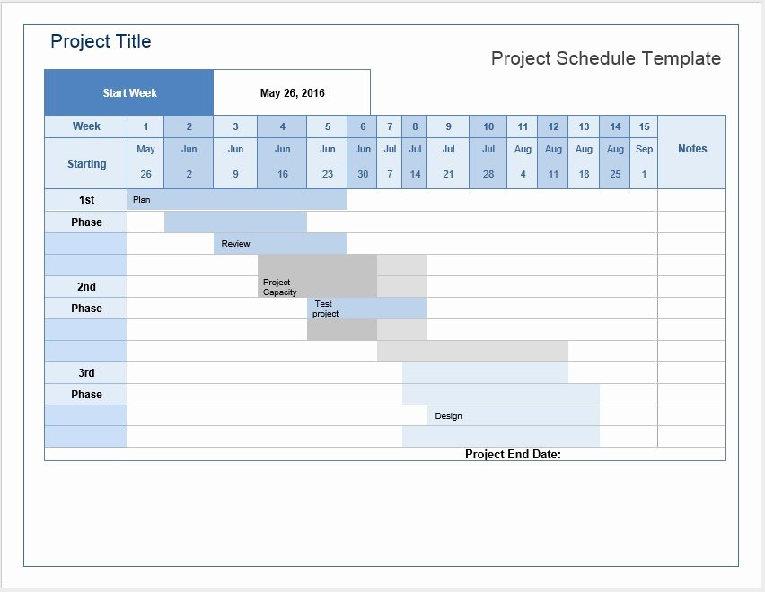 Project Plan Template Word Awesome Project Schedule Templates – Word Templates for Free Download