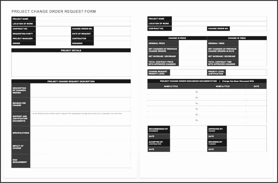Project Request form Template Unique 6 Project Request form Template Word Sampletemplatess