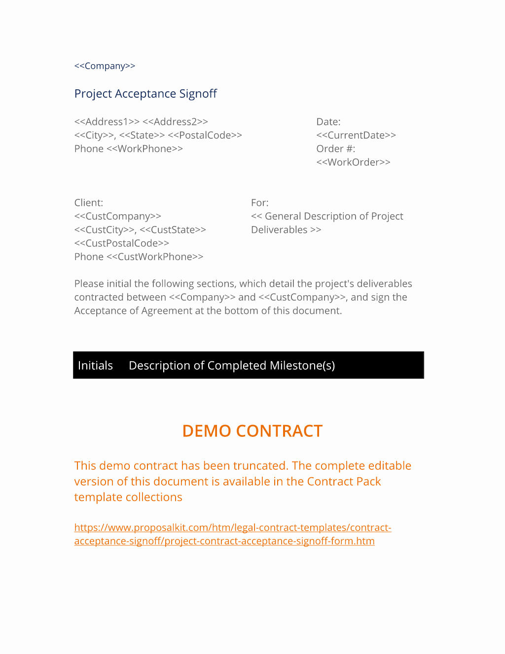 Project Sign Off Template Elegant Sample Of Sign Off Document for It Projects