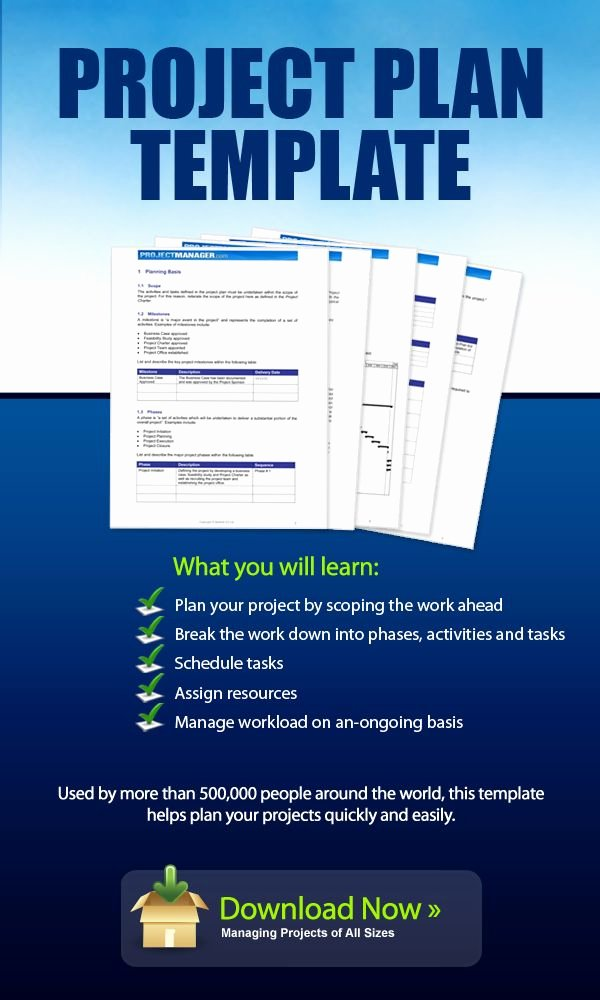 Project Work Plan Template Awesome Download This Project Plan Template for Free It Helps You