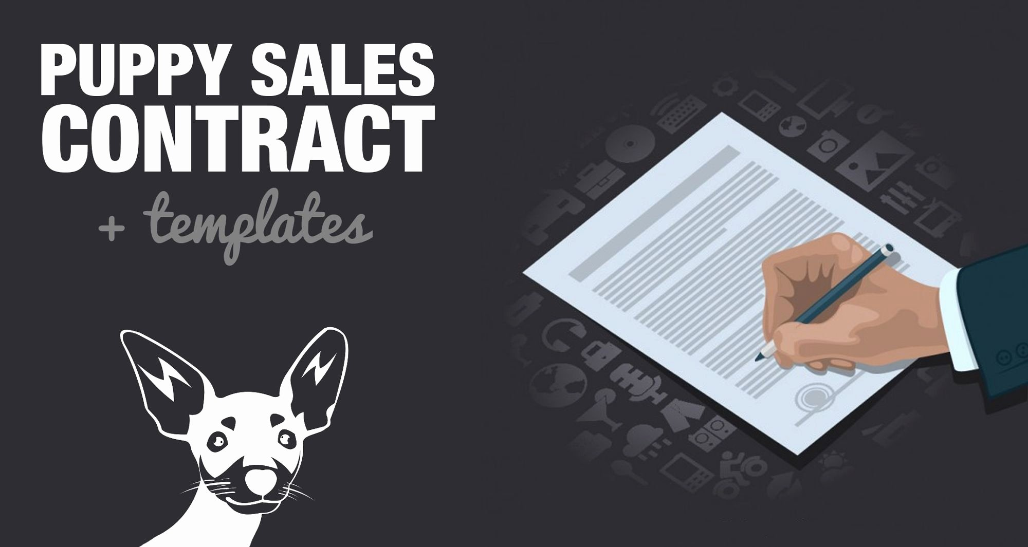 Puppy Sale Contract Template Elegant Free Puppy Sales Contract Template & Word Doc Sample