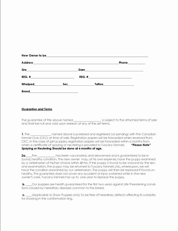Puppy Sale Contract Template Inspirational Puppy Sale Contract why Dogs Have Separation Anxiety How