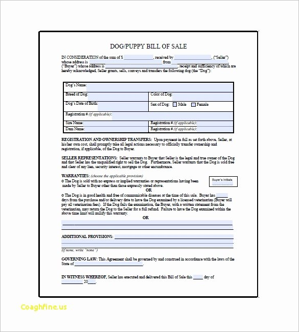 Puppy Sale Contract Template New Puppy Application Template – Exploredogs
