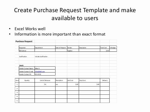 Purchase Request form Template Luxury Purchase Request Process for Small to Medium Sized Pany