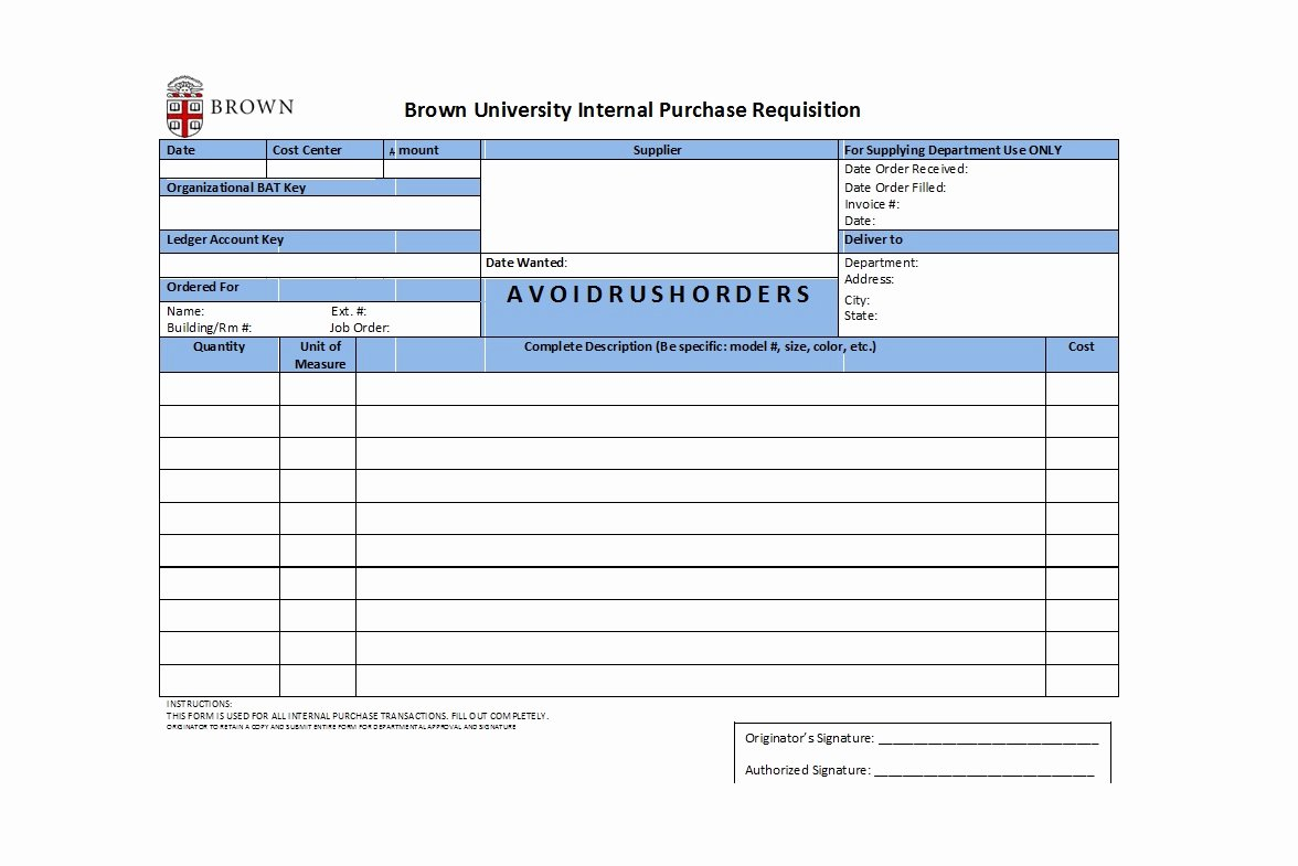 Purchase Requisition form Template Elegant 50 Professional Requisition forms [purchase Materials Lab]