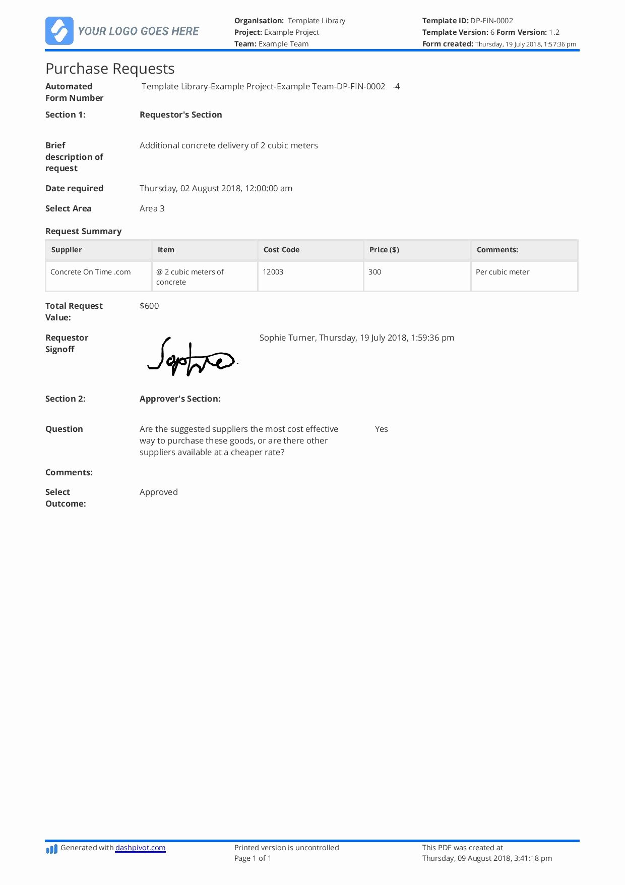 Purchase Requisition form Template New Purchase Request form Template Better Than Word Doc Pdf