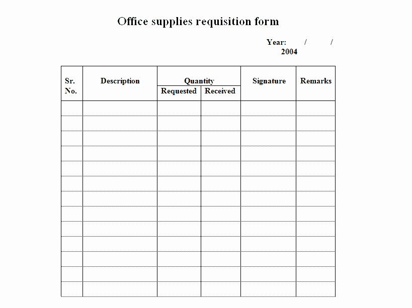 Purchase Requisition form Template Unique 4 Requisition form Templates Excel Xlts