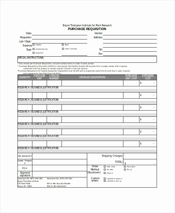 Purchasing Request form Template New Excel form Template 6 Free Excel Document Downloads