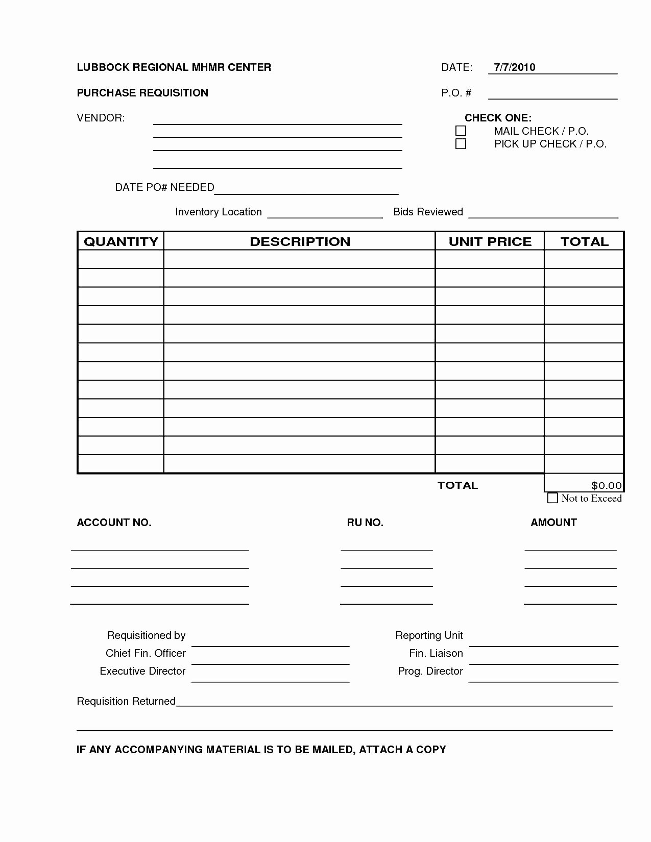 Purchasing Request form Template Unique 6 Best S Of Excel Purchase Requisition form Template