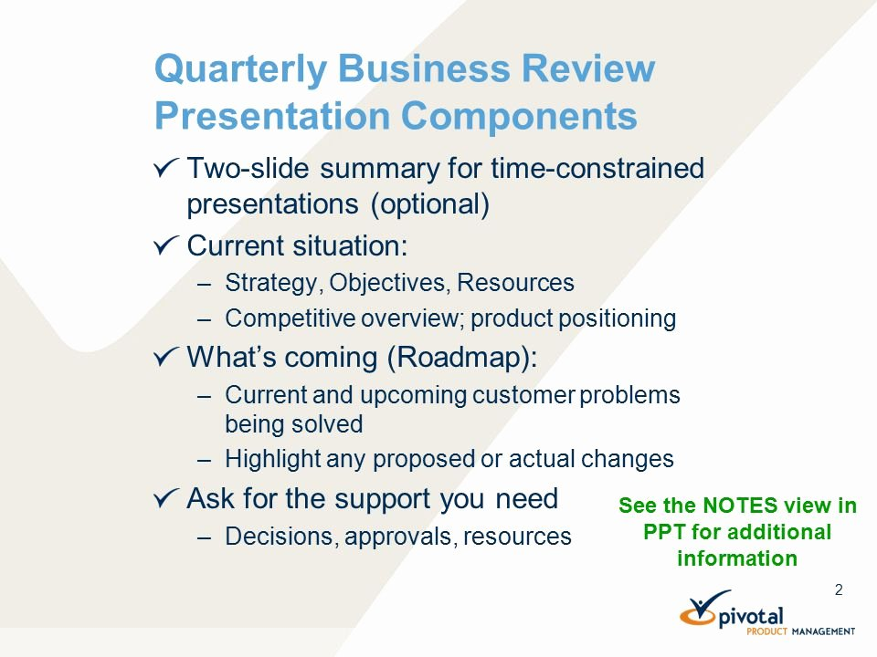 Quarterly Business Review Templates Awesome Quarterly Business Review Template Ppt Video Online