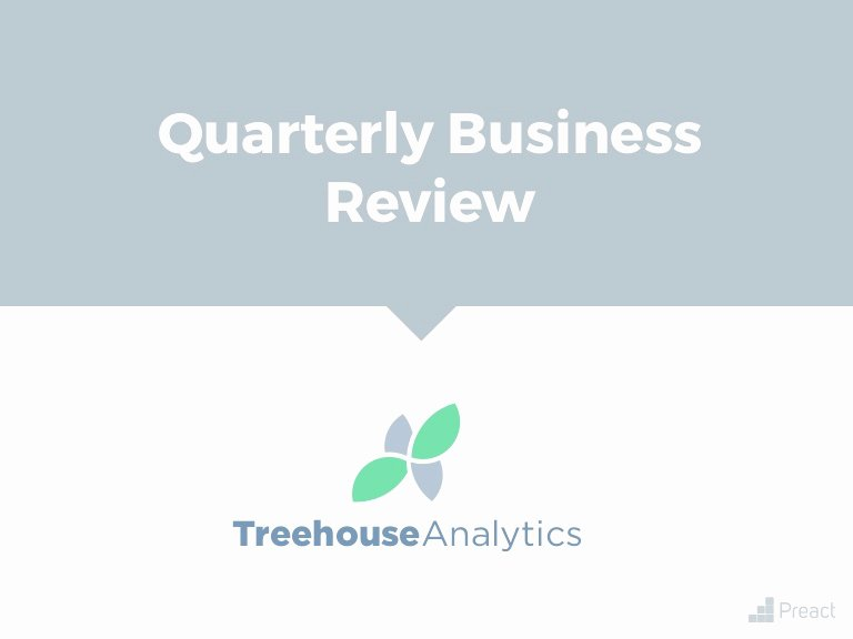 Quarterly Business Review Templates Awesome the Simplest Qbr Template Ever