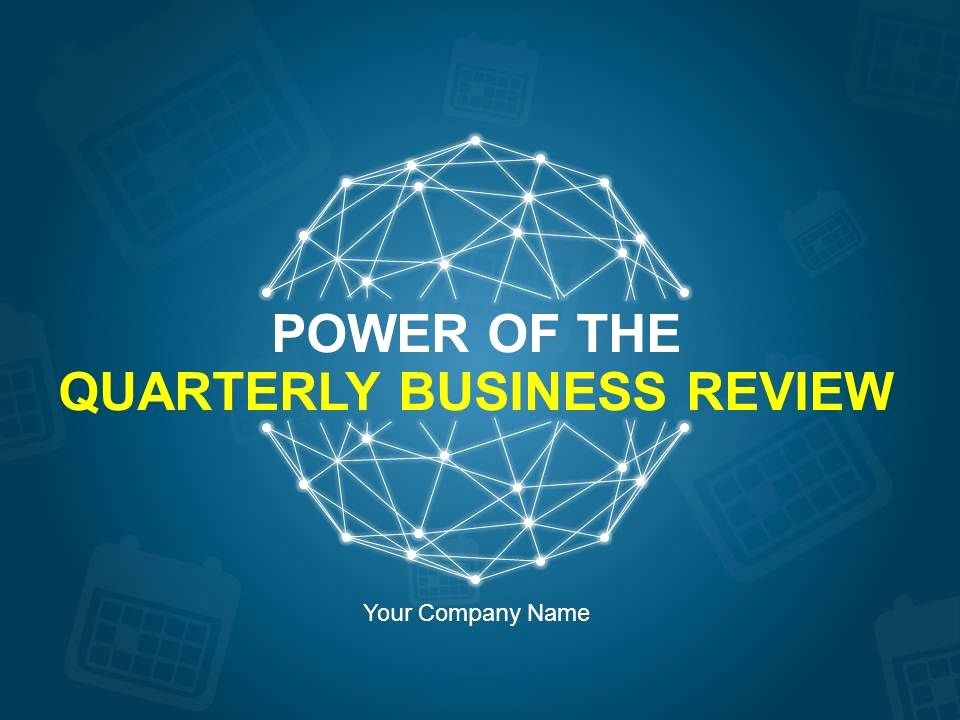 Quarterly Business Review Templates Beautiful Power the Quarterly Business Review Powerpoint