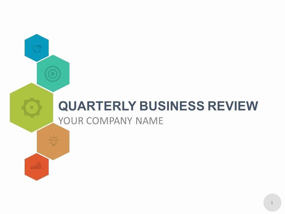 Quarterly Business Review Templates Elegant Quarterly Business Review Plete Powerpoint Deck with