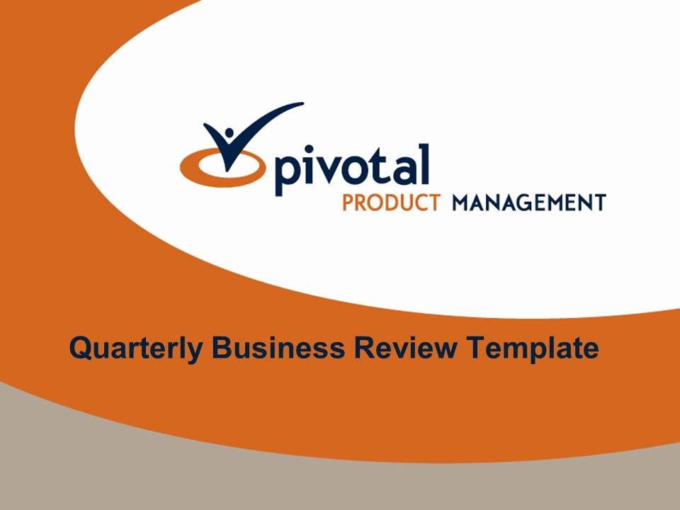 Quarterly Business Review Templates Elegant Quarterly Business Review Template Ppt Video Online