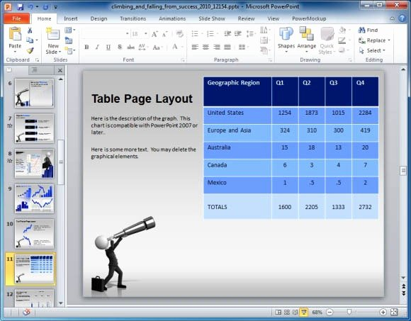 Quarterly Business Review Templates Fresh Business Presentation Template for Powerpoint with
