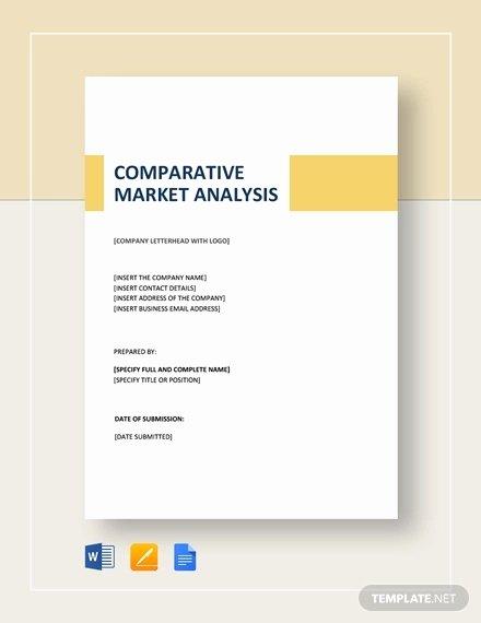 Real Estate Market Analysis Template Fresh 26 Market Analysis Templates Word Excel Pdf Apple