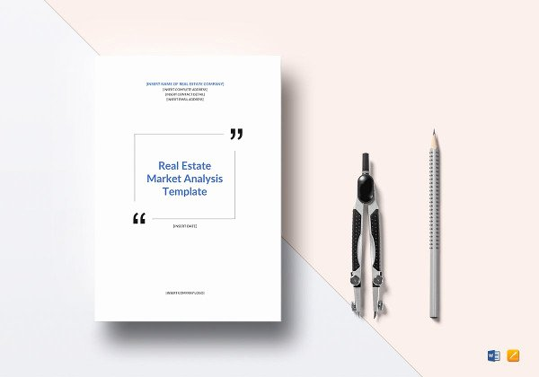 Real Estate Market Analysis Template Inspirational 7 Real Estate Market Analysis Pdf Word Apple Pages