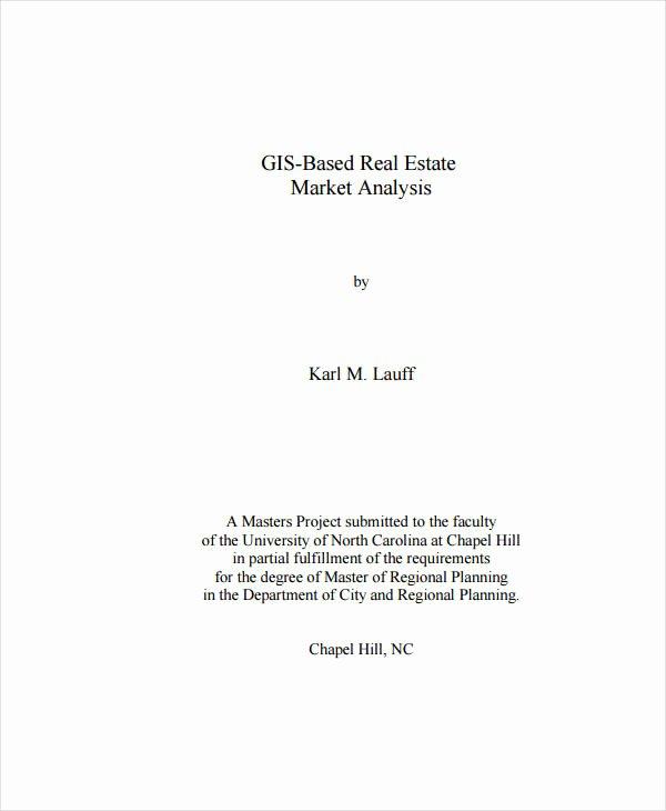 Real Estate Market Analysis Template Luxury 11 Real Estate Market Analysis Templates Pdf Word