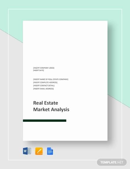 Real Estate Market Report Template Best Of 16 Market Analysis Samples Pdf Word