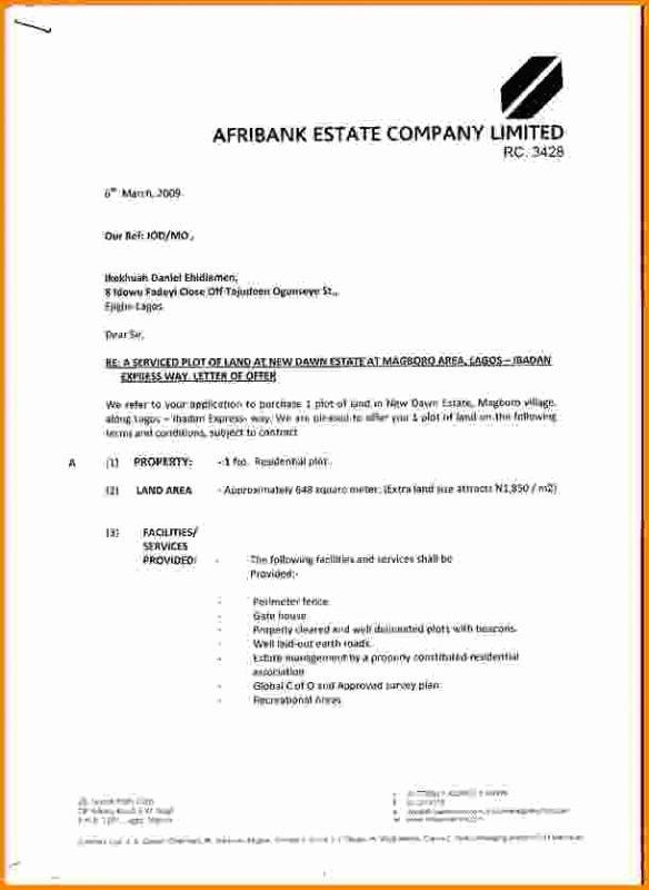 Real Estate Offer Letter Template Fresh Real Estate Fer Letter
