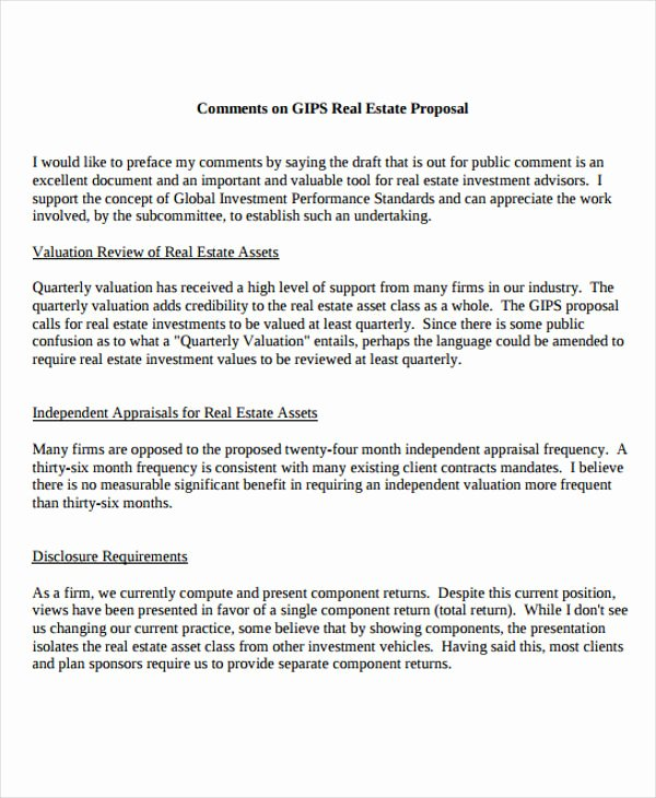 Real Estate Proposal Template Elegant 13 Real Estate Business Proposal Templates Free Word