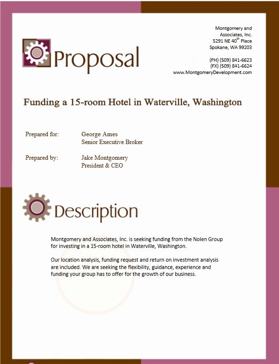 Real Estate Proposal Template Lovely 9 Free Sample Real Estate Proposal Templates Printable