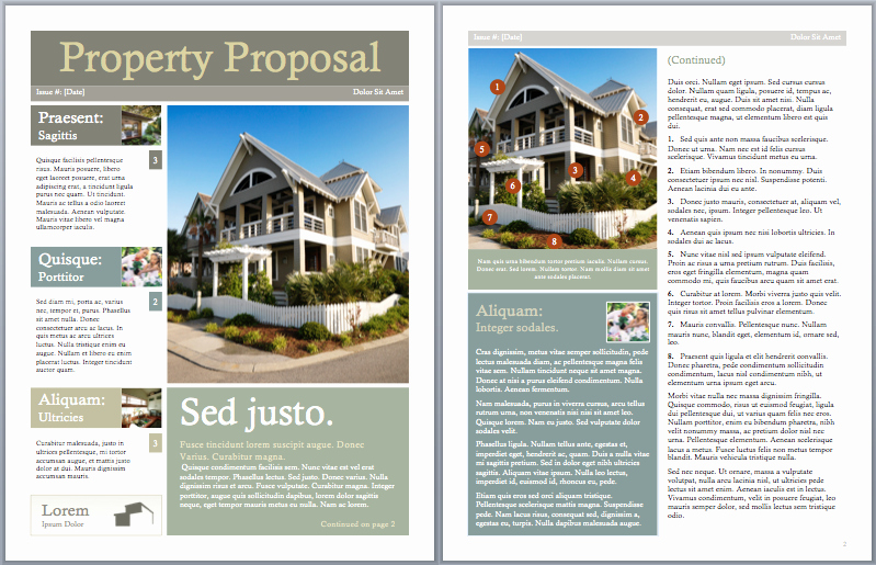 Real Estate Proposal Template New Real Estate Investment Proposal Template