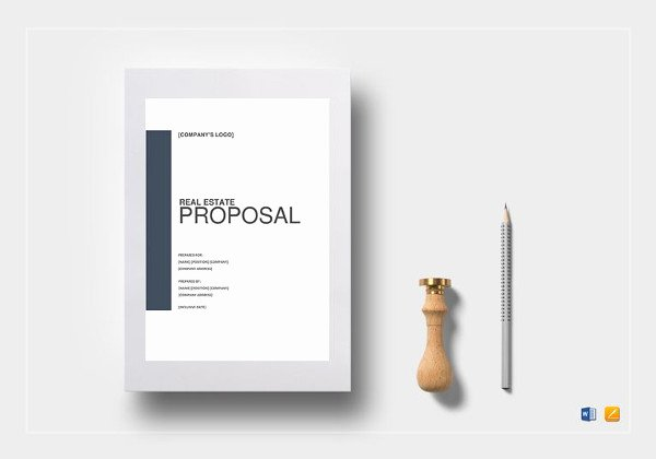 Real Estate Proposal Template Unique Sales Proposal Template 19 Free Sample Example format