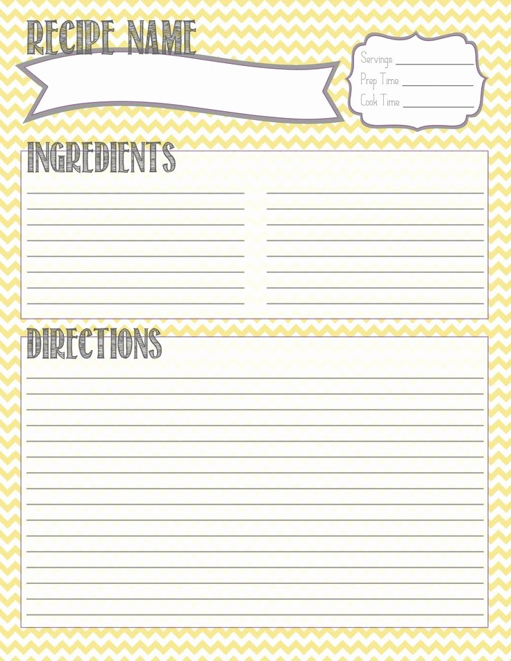 Recipe Card Template for Pages Unique 25 Best Ideas About Printable Recipe Cards On Pinterest