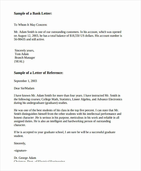 Recommendation Letter Template for Job Fresh 10 Employee Re Mendation Letter Template 10 Free