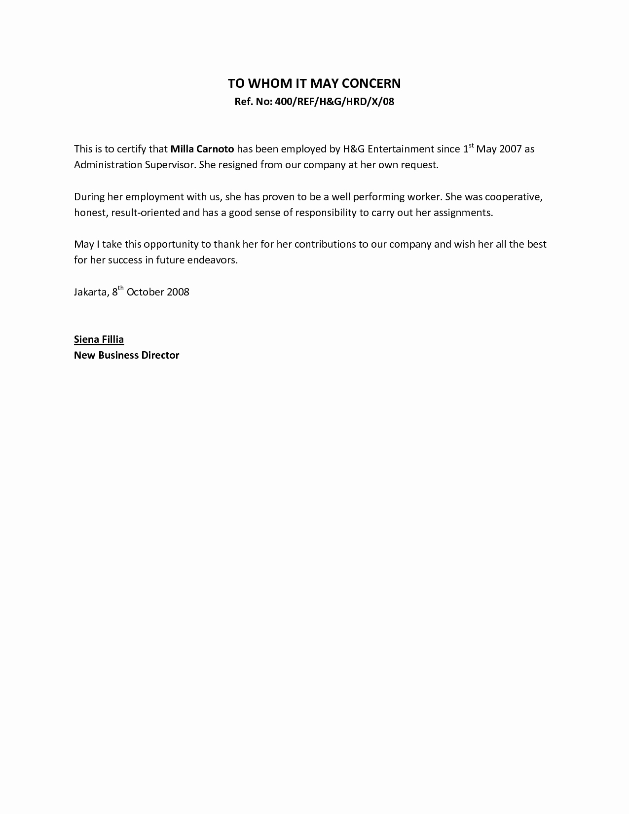 Recommendation Letter Template for Job Fresh Re Mendation Letter From Manager