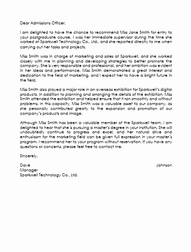 Recommendation Letter Template for Job Lovely Employee Reference Letter Template 5 Samples that Works
