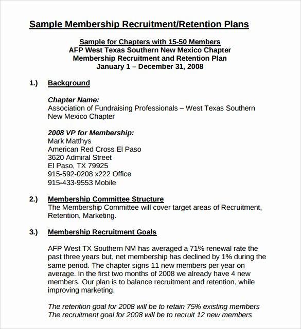 Recruitment Action Plan Template Elegant 8 Recruitment Plan Templates Download for Free