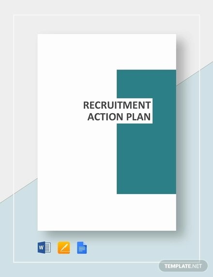 Recruitment Action Plan Template New Recruitment Plan Templates 12 Free Word Pdf format