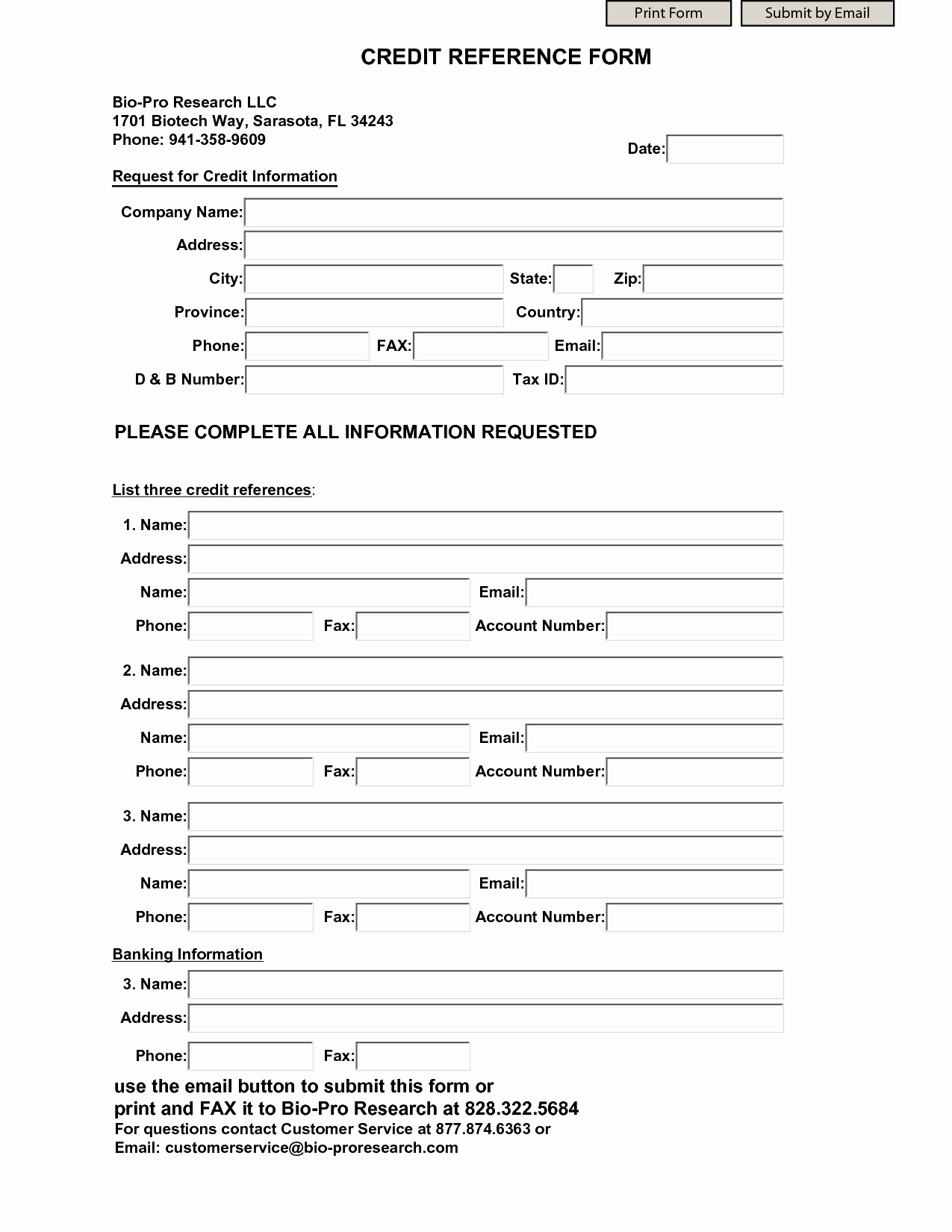 Reference Check form Template Lovely Credit Reference form