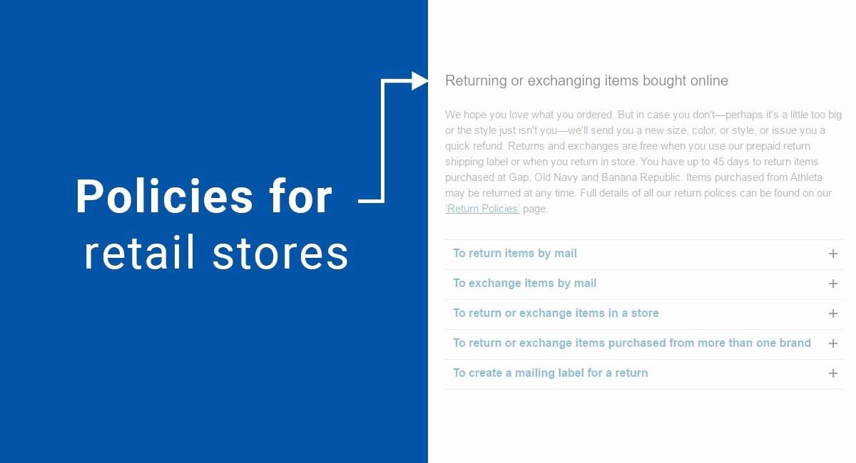 Refund Policy Template for Services Lovely Policies for Retail Stores Termsfeed