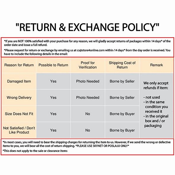 Refund Policy Template for Services Luxury Return Policy Template Zpst6onsxqx by Imnibiz