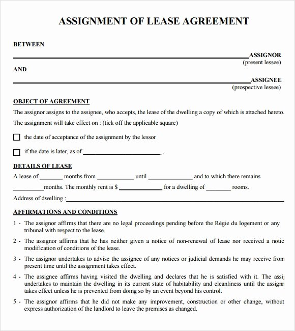 Rent to Own Contract Template Unique Sample Lease Agreements 8 Documents In Pdf Word