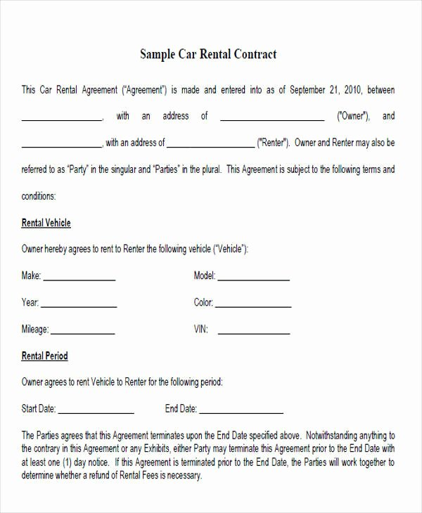 Rent to Own Contracts Templates Awesome Rent to Own Contract Templates