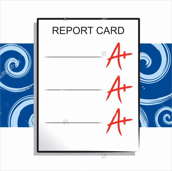 Report Card Template Word Best Of 14 Progress Report Card Templates Docs Word Pdf Pages