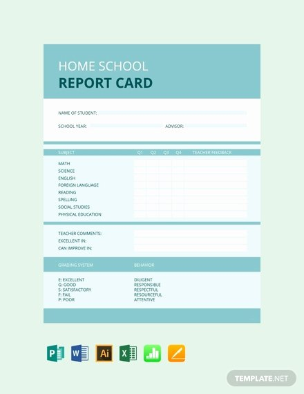 Report Card Template Word New Free High School Report Card Template Download 154