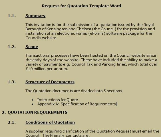 Request for Quote Template Excel Best Of Get Request for Quotation Template Word