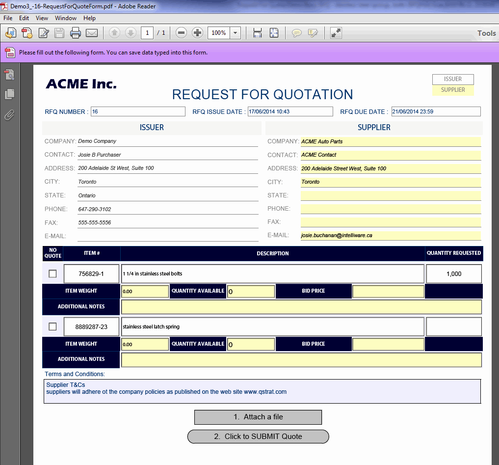 Request for Quote Template Excel Fresh Pare Rfq Responses with Ease Using Quotecube™ Qstrat