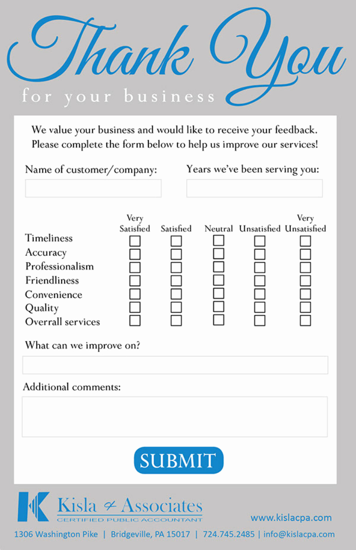 Restaurant Comment Card Template Awesome Restaurant Ment Card Template