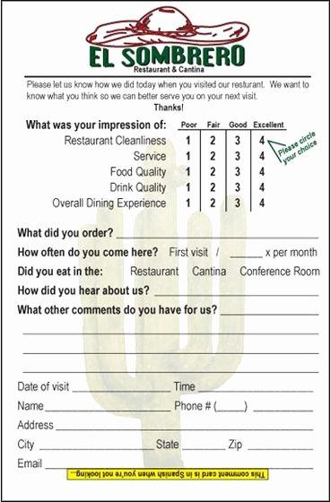 Restaurant Comment Card Template Fresh 19 Best Restaurant Branding Posters Images On Pinterest